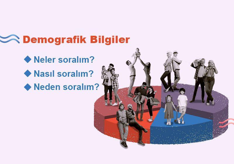 Demografik sorular anketin neresinde sorulur?